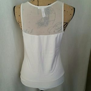 Ambiance Tops - White Bodysuit